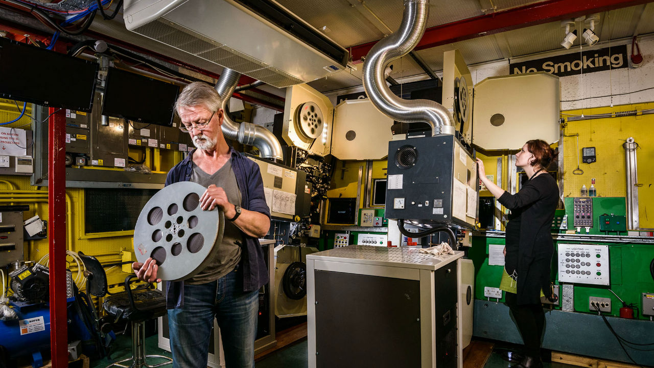 Talk: 35mm to Digital - The Changing Face of Film Projection ... Image