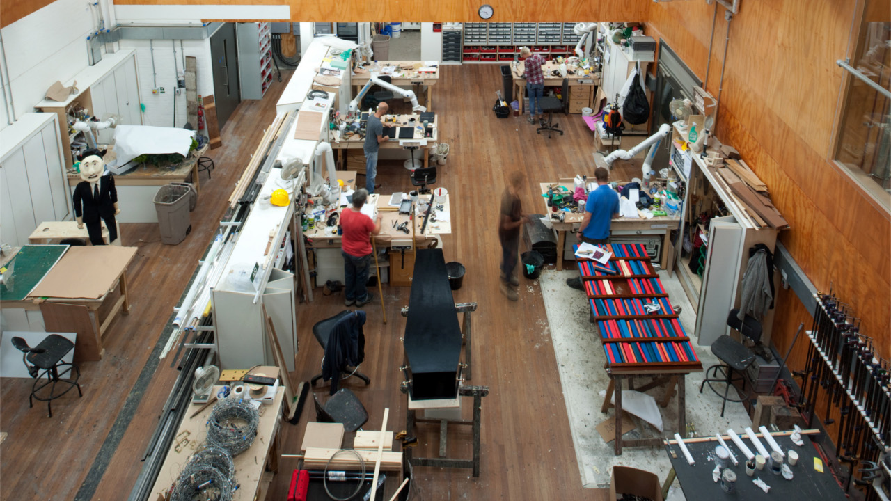 The Props Workshop at the National Theatre