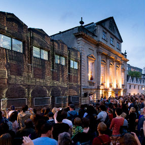 A photograph of the exterior of Bristol Old Vic