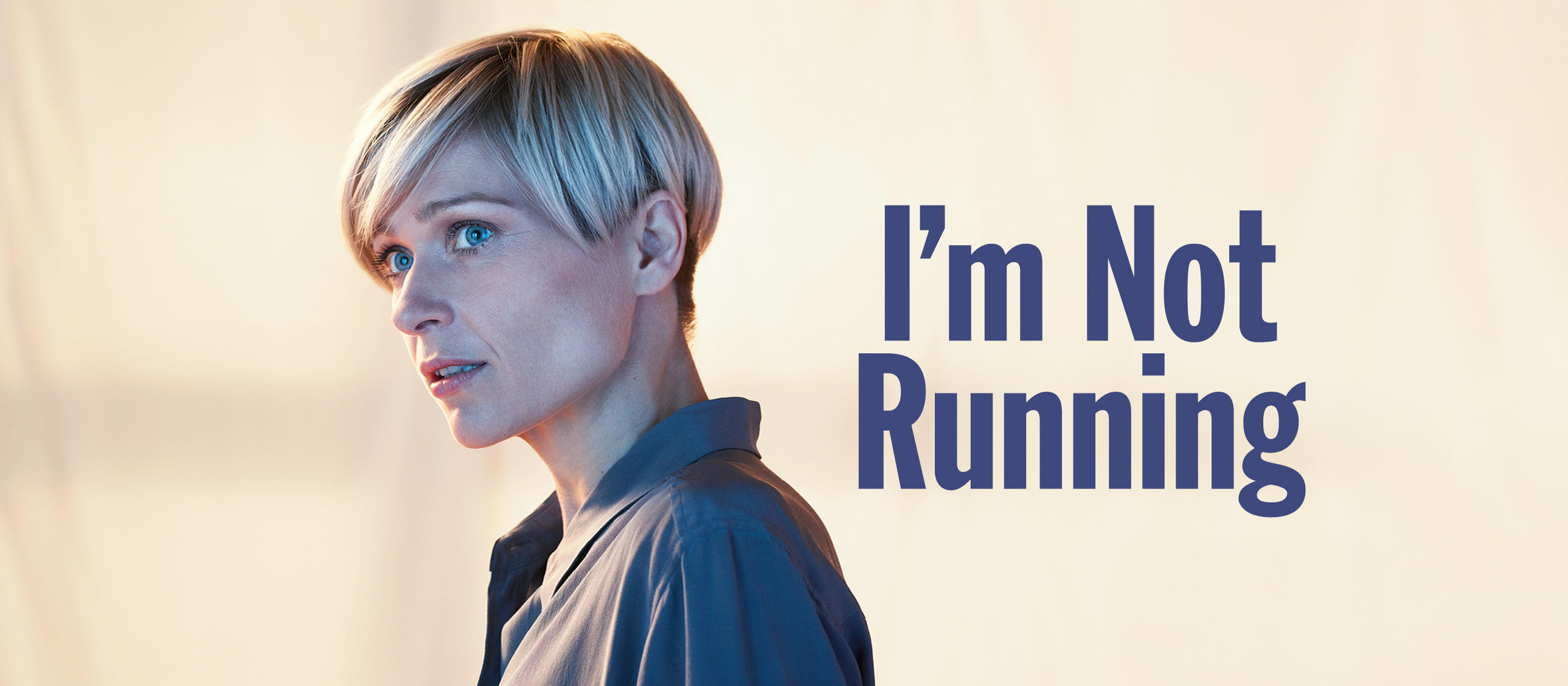 I'm Not Running by David Hare, with image of Siân Brooke