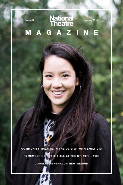 Emily Lim on the cover of Issue 9
