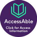 AccessAble logo link to their website for information on this page