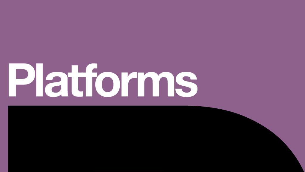 Platforms at the National Theatre