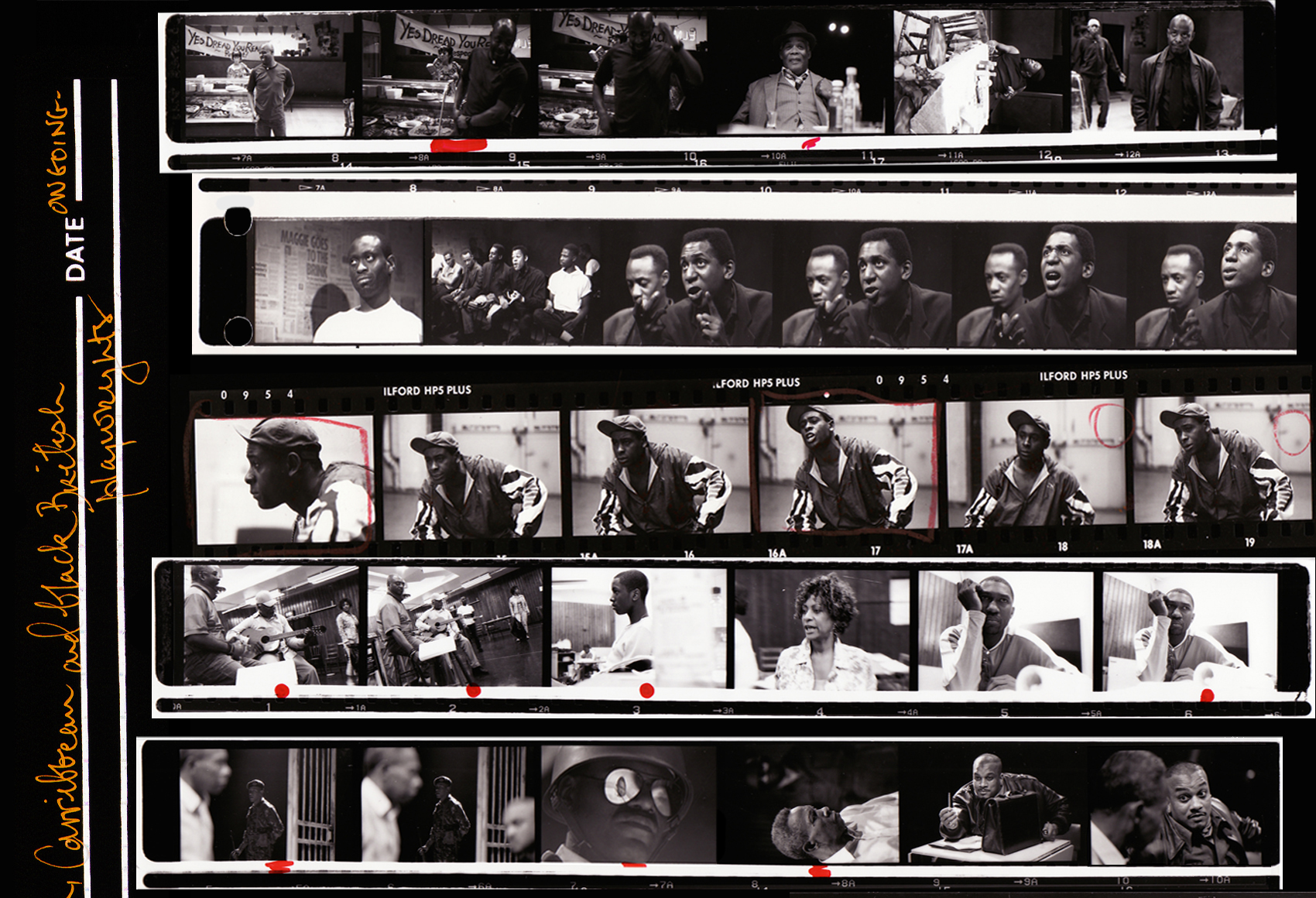 Black Plays Archive contact sheet