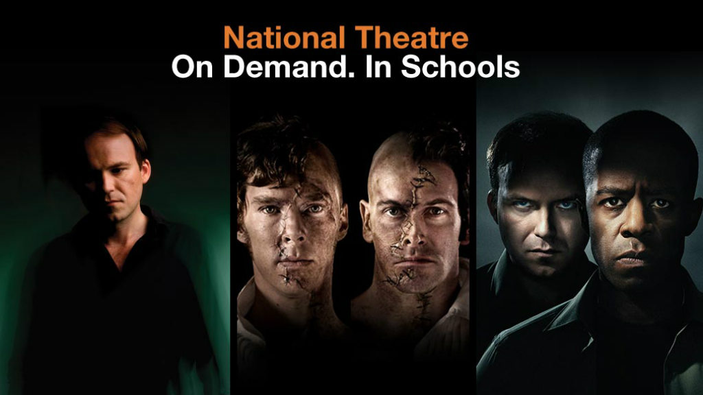 Schools Streaming Service: photos of Rory Kinnear, Benedict Cumberbatch, Jonny Lee Miller and Adrian Lester