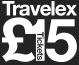 Travelex £15 tickets logo