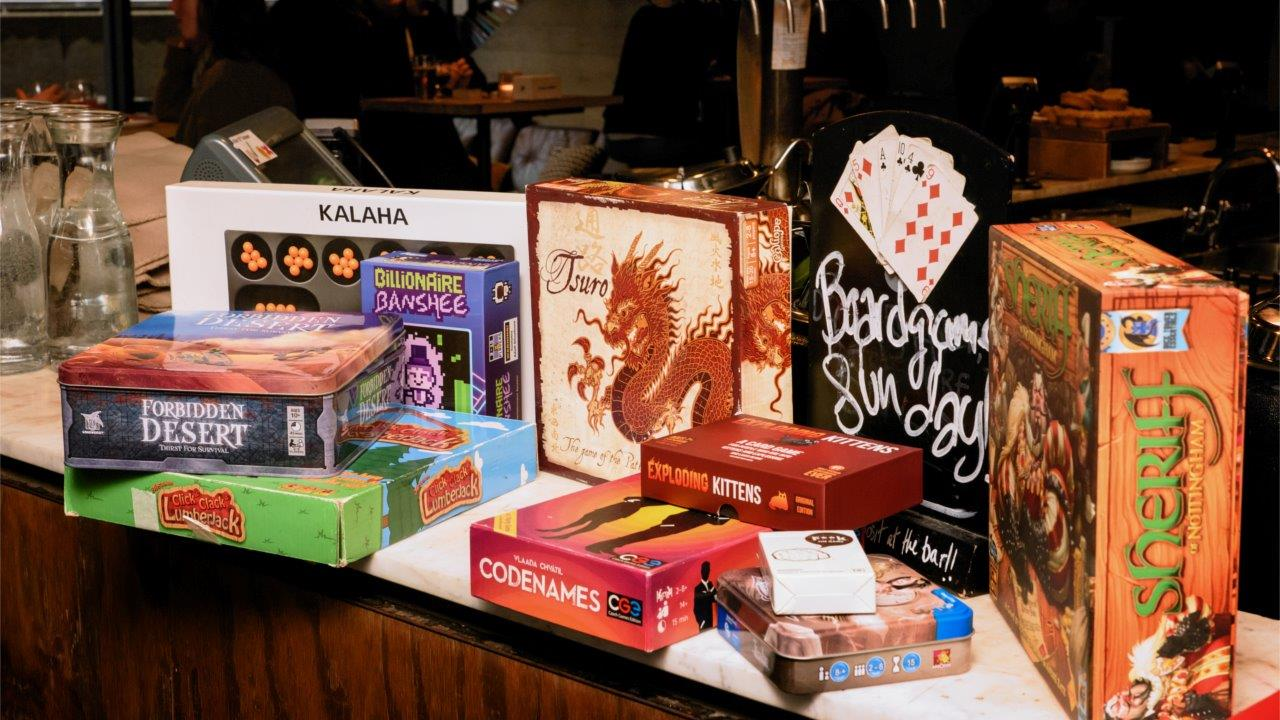 Board Games at the National Theatre