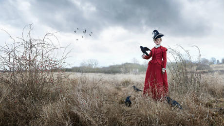 Common - with photo of Anne-Marie Duff and crows