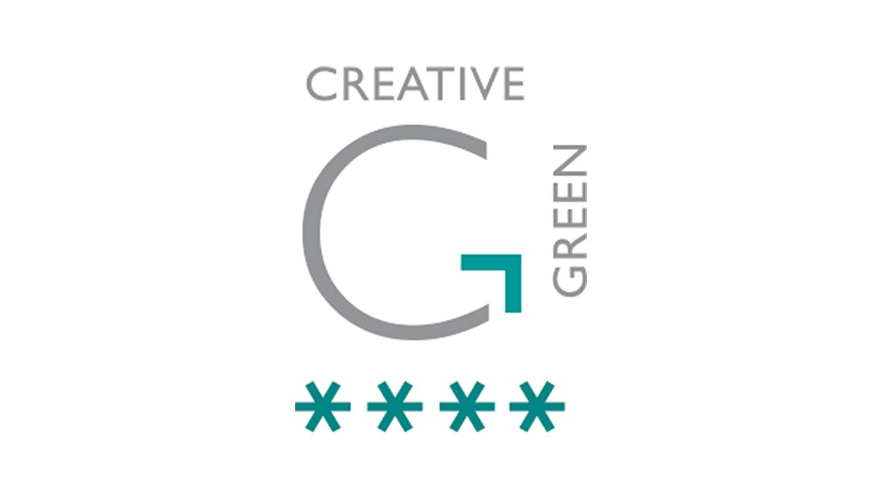 Creative Green 4 star logo