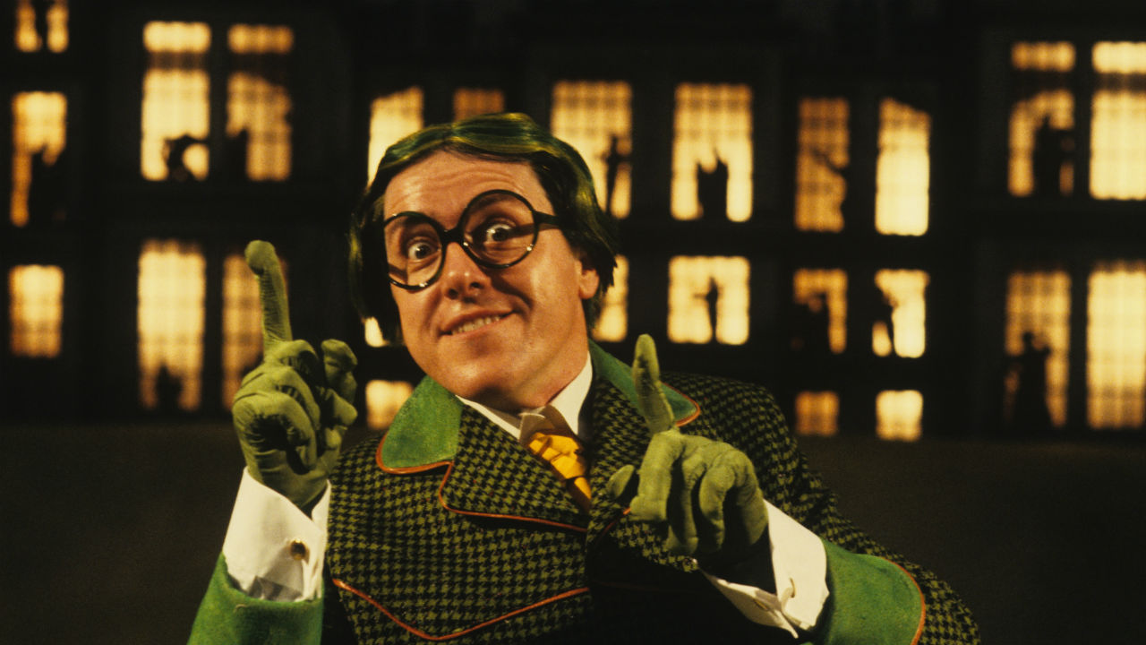 Griff Rhys Jones as Toad in Wind in the Willows