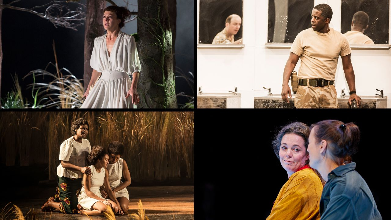 Production photos from 4 different NT shows