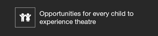 Opportunities for every child to experience theatre