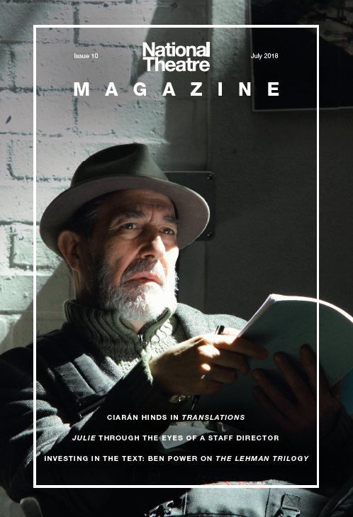 Ciaran Hinds on the cover of issue 10