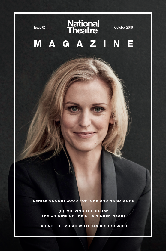 Denise Gough on the NT Magazine Issue 5 cover