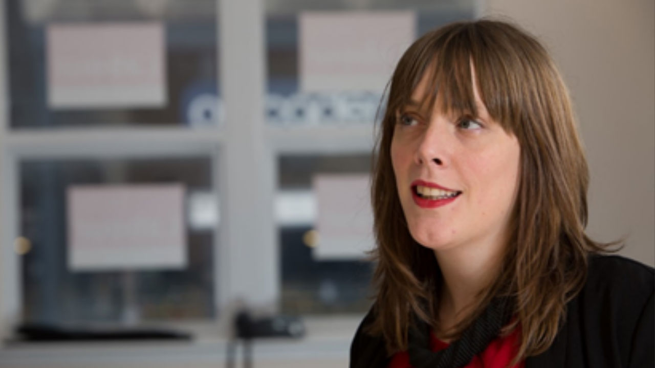 A photograph of Jess Phillips