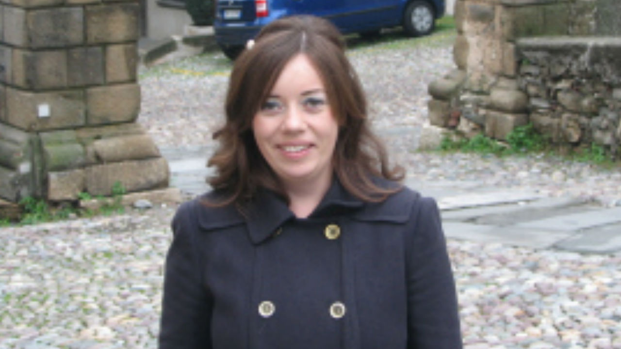 A photo of Niamh Cullen, author of Love, Honour and Jealousy: An Intimate History of the Italian Economic Miracle (Oxford University Press, 2019)