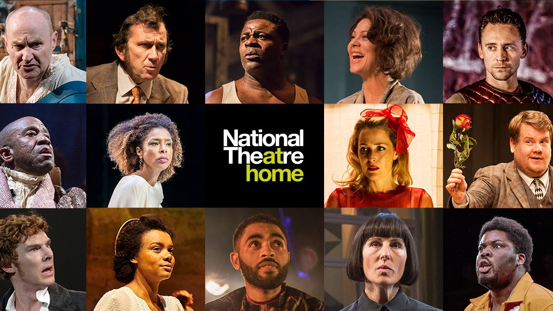 National Theatre at Home, images from many of the productions that were streamed over 16 weeks