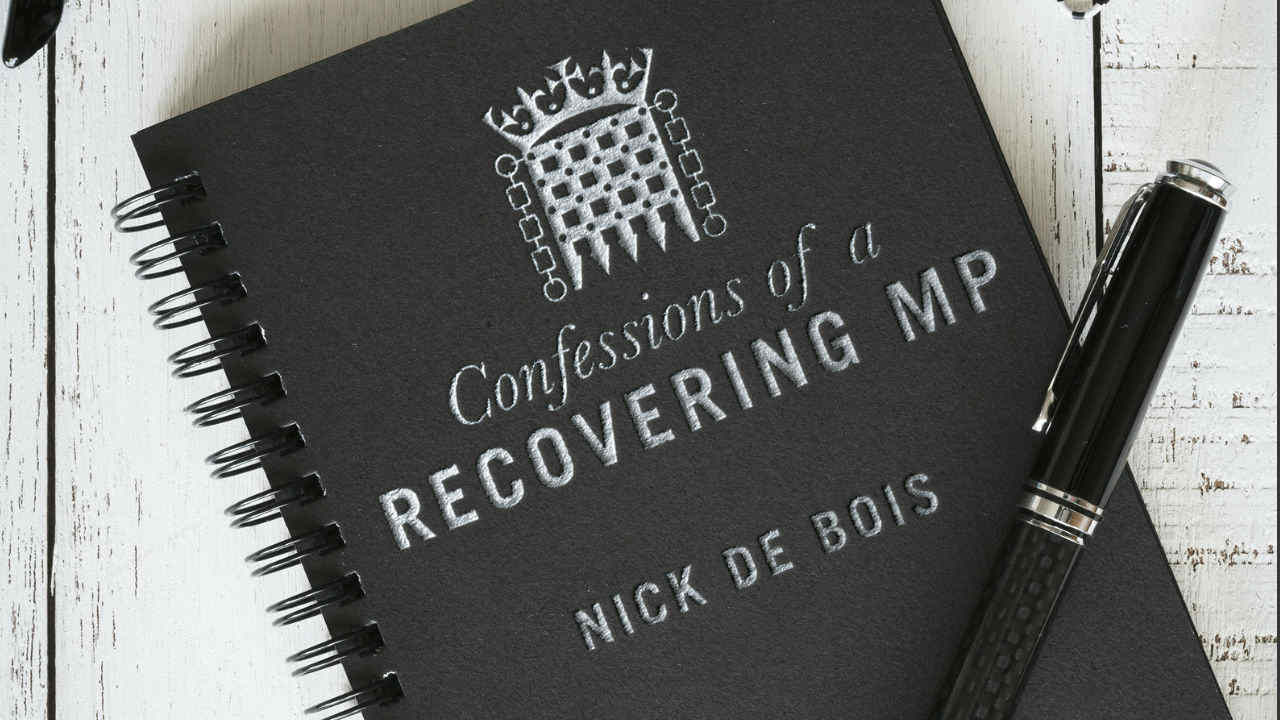 A photograph of the cover of Nick De Bois' book: Confessions of a Recovering MP