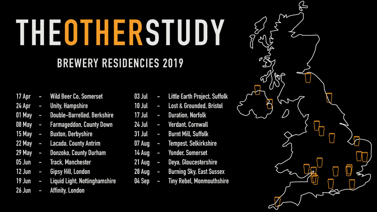 The Otherstudy brewery residencies 2019