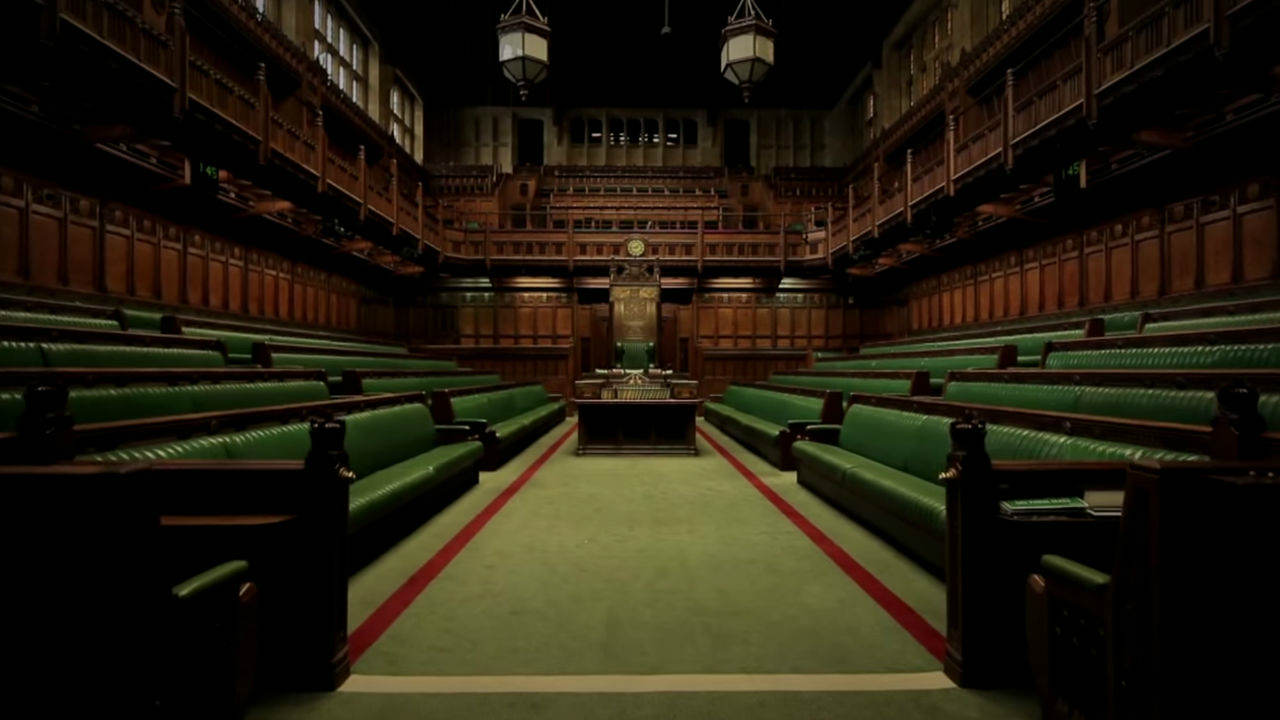 An image of the UK House of Commons