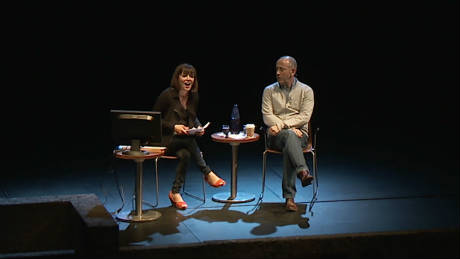 Photo of Nicholas Hytner at his Shakespeare at the NT 21st Century talk