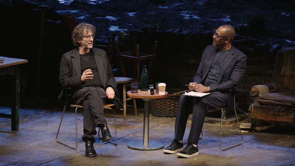Neil Gaiman in conversation with Lenny Henry