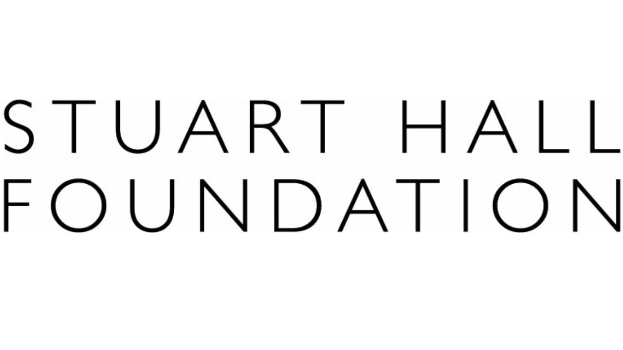 The logo of the Stuart Hall Foundation