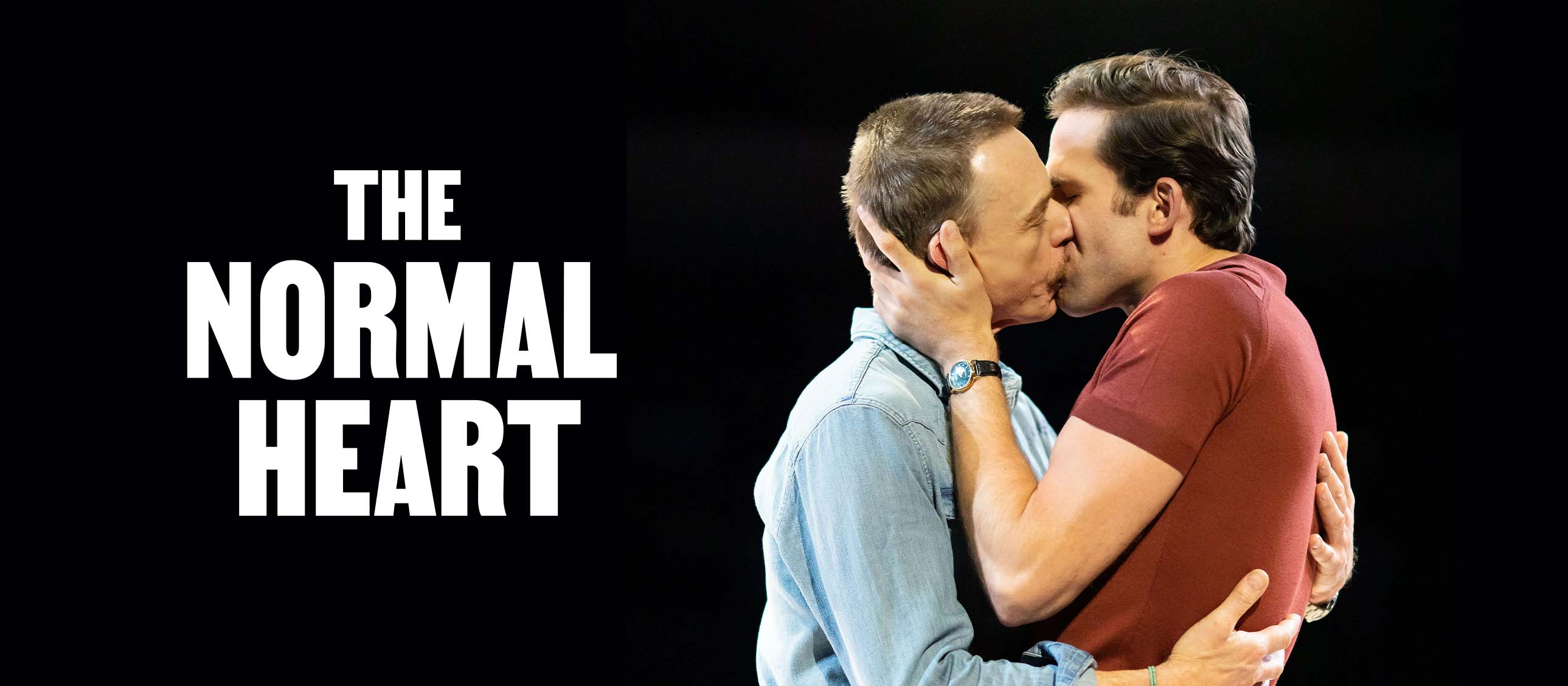 The Normal Heart - Dino Fetscher and Ben Daniels production image