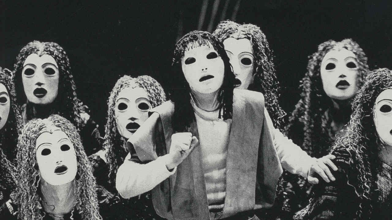 The Oresteia, 1981 - Orestes and the Chorus of Furies