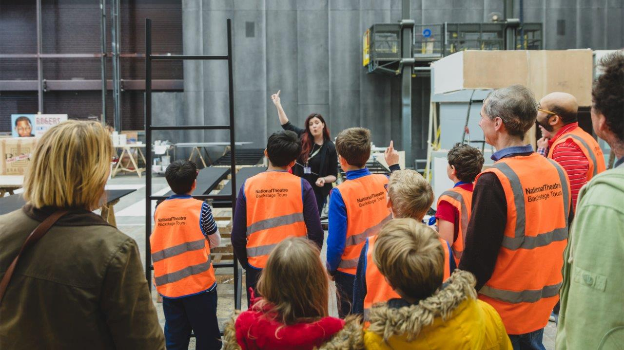 Backstage Tours at the National Theatre