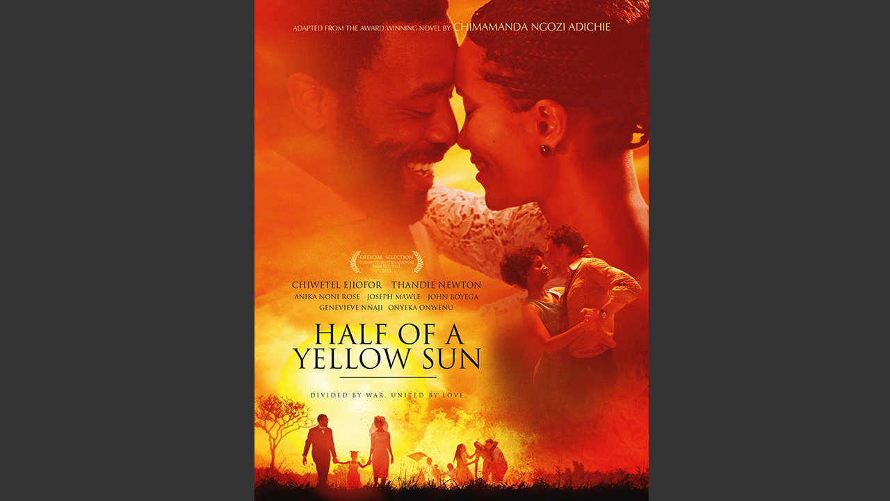 Film poster for Half of a Yellow Sun
