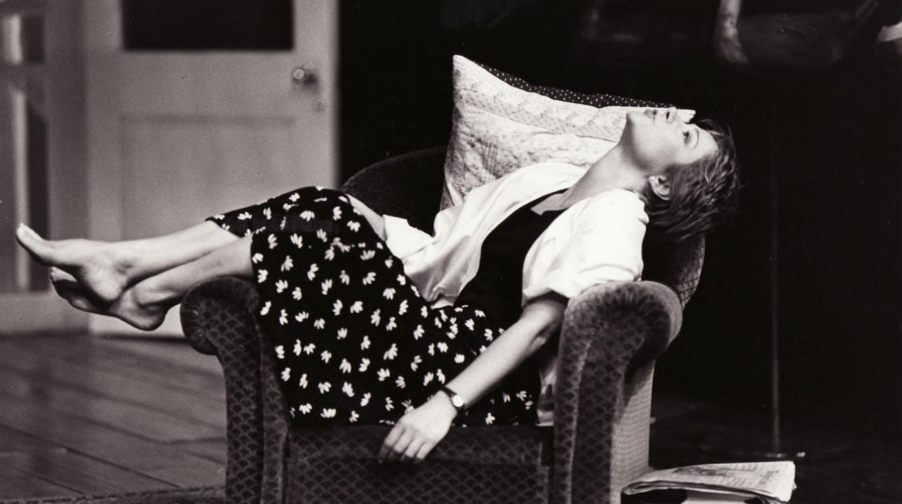 Zoë Wanamaker in Wrecked Eggs by David Hare (1986) Photo by Frank Hermann