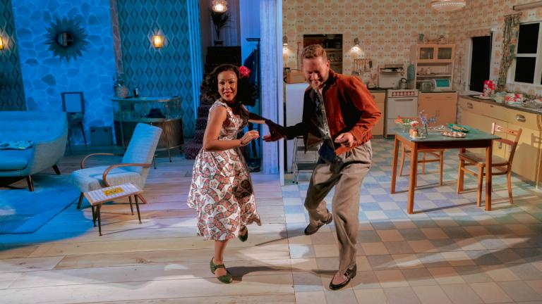 Kathryn Drysdale as Fran and Barnaby Kay as Marcus