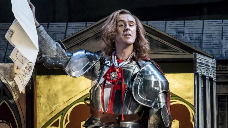 John Heffernan (George) in Saint George and the Dragon