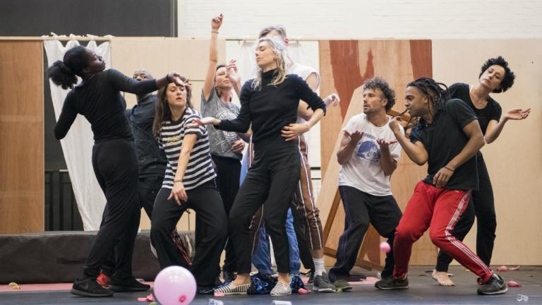 Rehearsals for Julie at the National Theatre