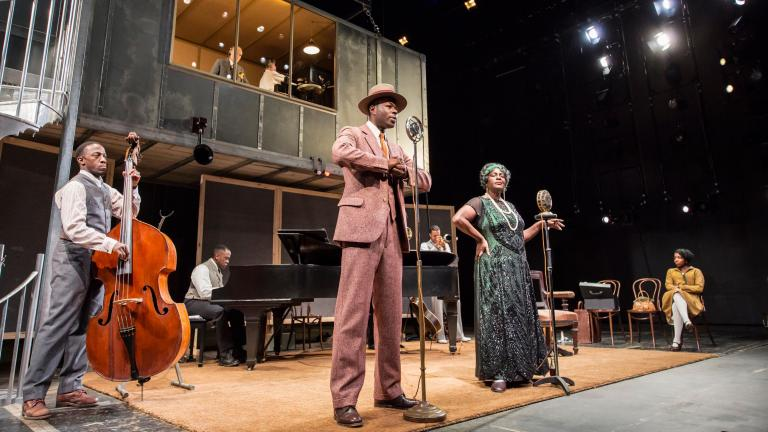 The Company of Ma Rainey's Black Bottom. Photo by Johan Persson.