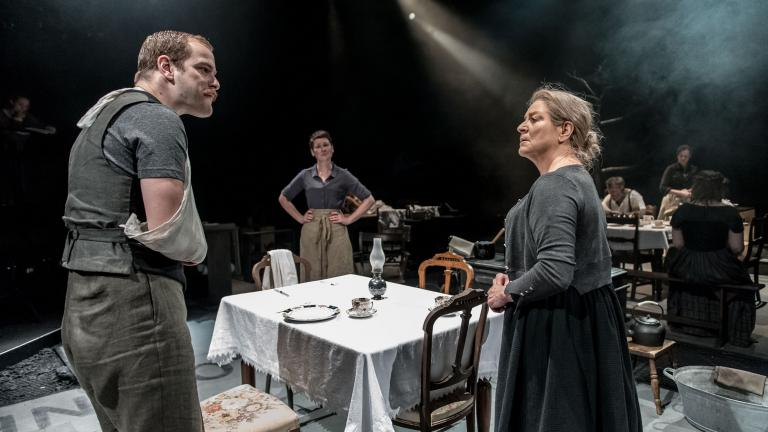 Husbands & Sons with Matthew Barker, Josie Walker and Susan Brown.