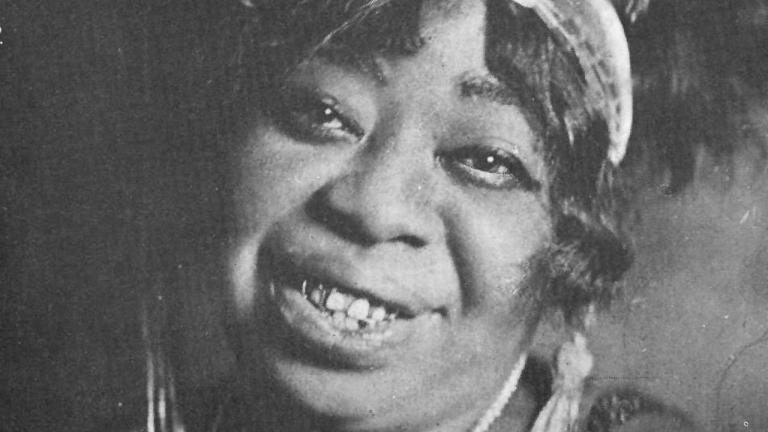 Ma Rainey black-and-white photo
