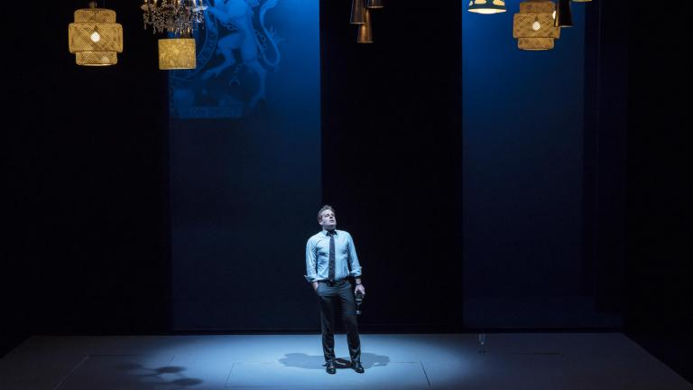 Adam James in Consent at the Harold Pinter Theatre