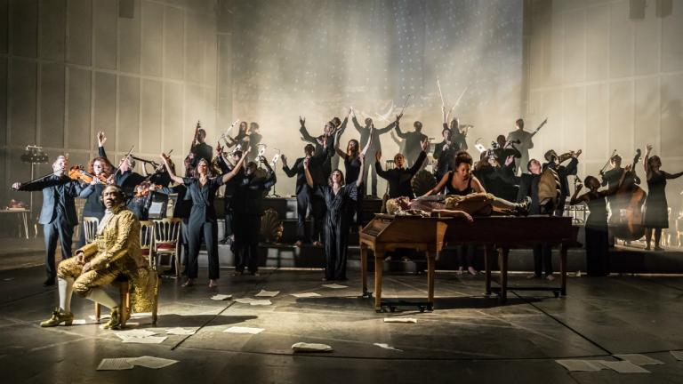 Amadeus at the National Theatre (c) Marc Brenner