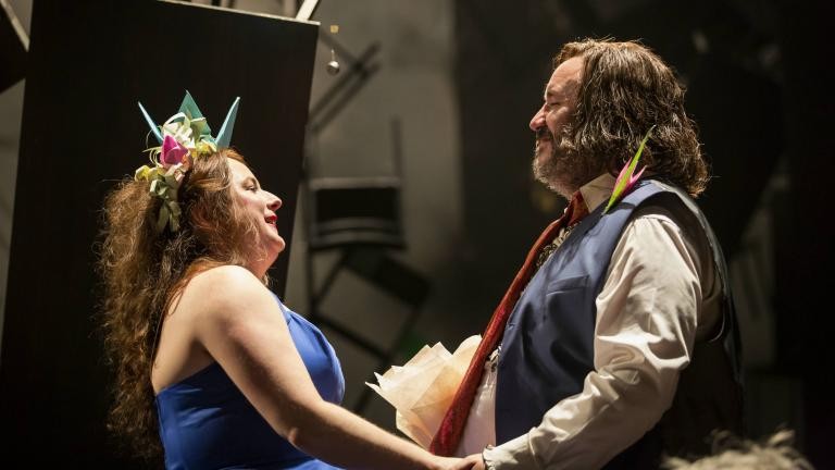 As You Like It with Siobhan McSweeney (Audrey) Mark Benton (Touchstone)