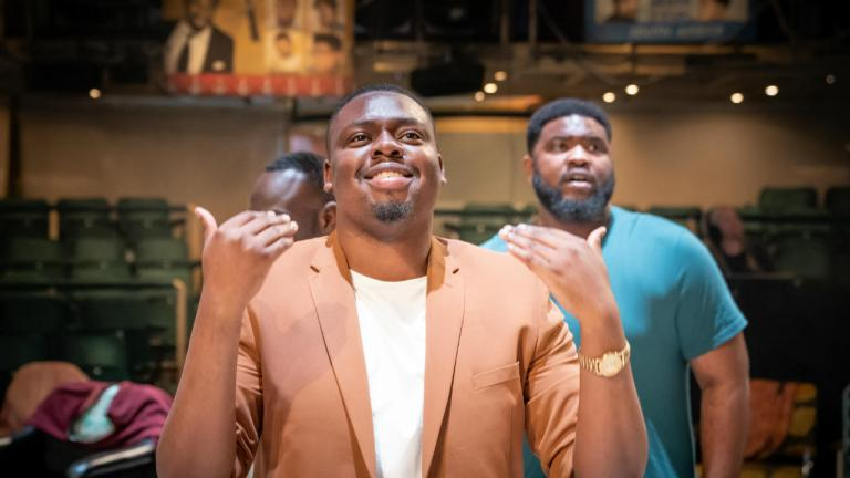 Barber Shop Chronicles at the Roundhouse and on tour