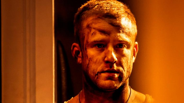 A Streetcar Named Desire with a photo of Ben Foster with dirt-smeared face