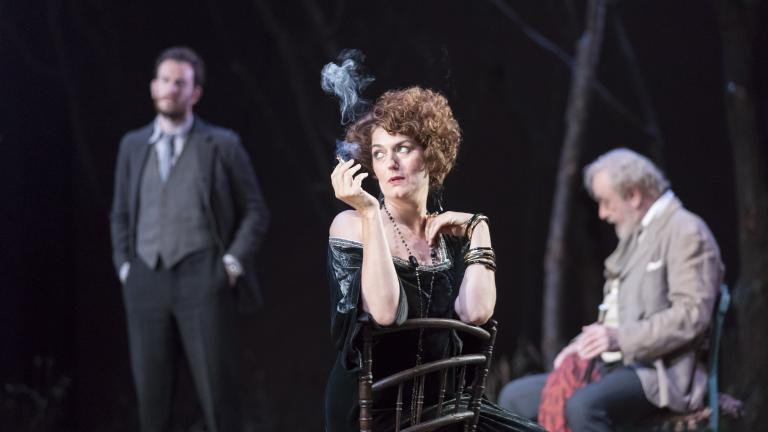 Anna Chancellor in The Seagull