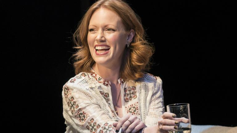 Clare Foster in Consent at the Harold Pinter Theatre