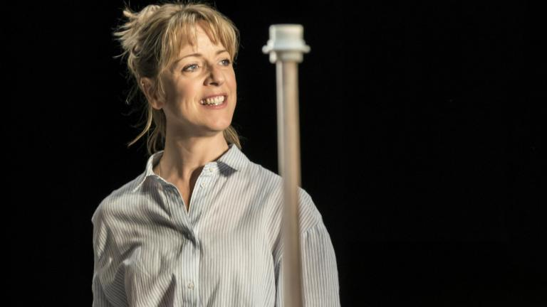 Claudie Blakley in Consent at the Harold Pinter Theatre