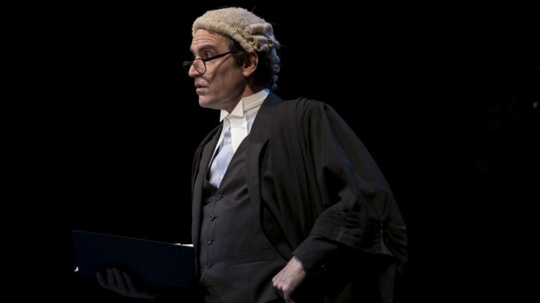 Consent production image Ben Chaplin as barrister
