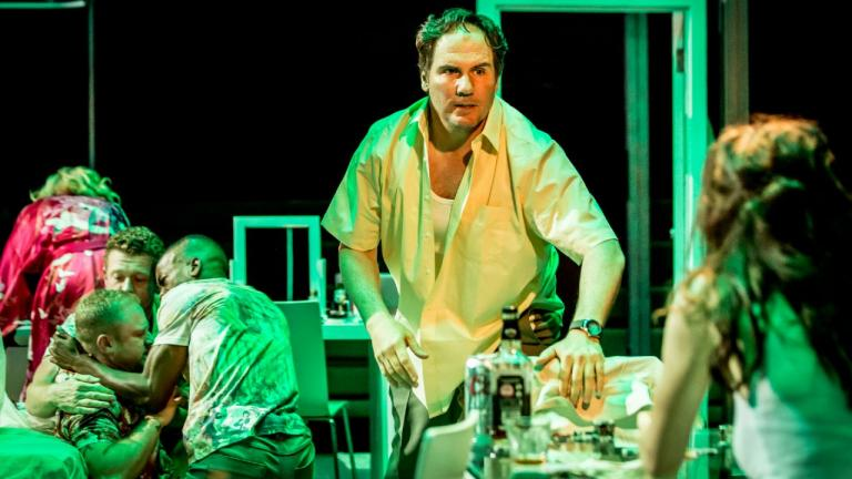 A Streetcar Named Desire with a photo of Corey Johnson and the Company