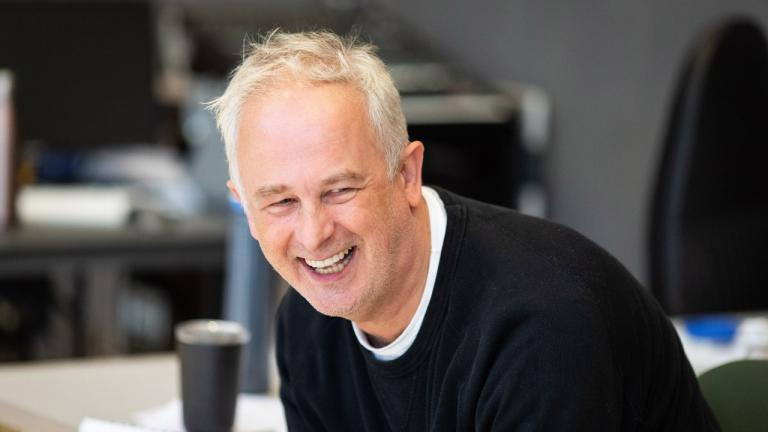 Dominic Cooke in rehearsals for The Normal Heart