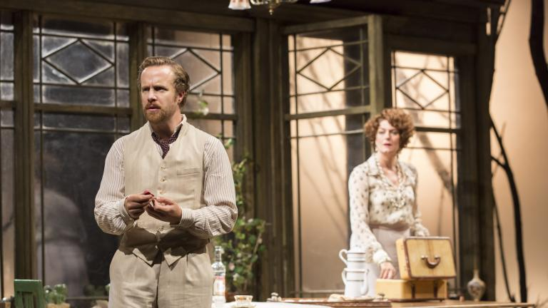 Geoffrey Streatfeild, Anna Chancellor in The Seagull.